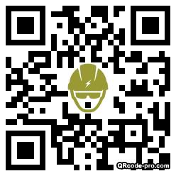 QR code with logo 1HIH0