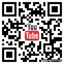 QR code with logo 1HIs0