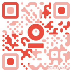 QR code with logo 1HK40