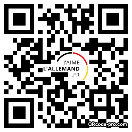 QR code with logo 1HK80