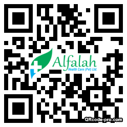 QR code with logo 1HKF0