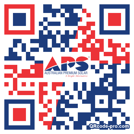 QR code with logo 1HPm0