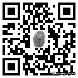 QR code with logo 1HS40