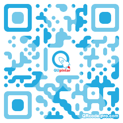 QR code with logo 1HYB0