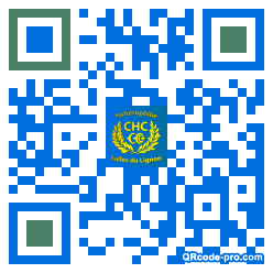 QR code with logo 1HkQ0