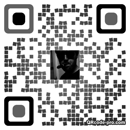 QR code with logo 1HlQ0