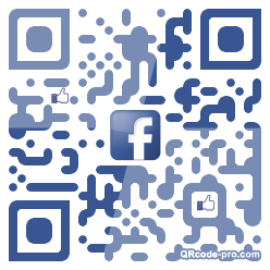QR code with logo 1Hp80