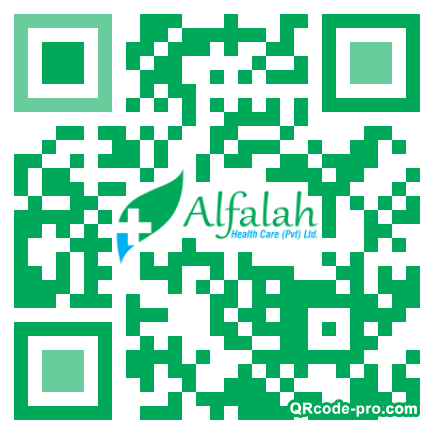 QR code with logo 1Hpp0