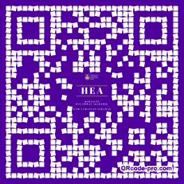 QR code with logo 1HrD0