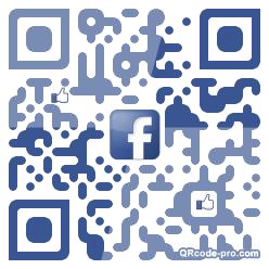 QR code with logo 1HrU0