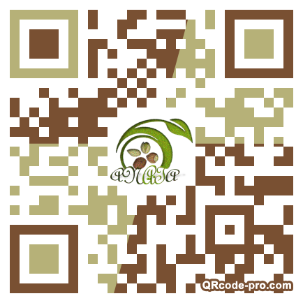 QR code with logo 1Hum0