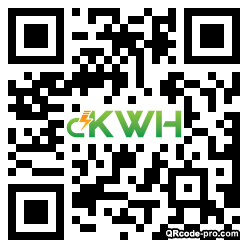 QR code with logo 1Hwd0