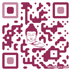QR code with logo 1HzM0