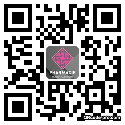 QR code with logo 1Hzg0