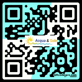 QR code with logo 1ICw0
