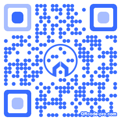 QR code with logo 1IS20