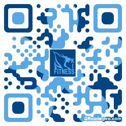QR code with logo 1IV40