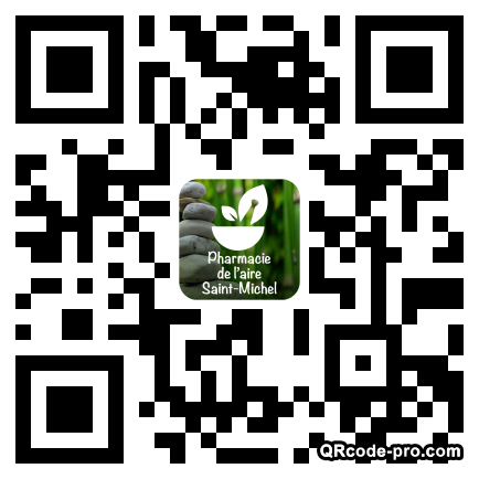 QR code with logo 1Icu0