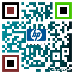 QR code with logo 1Iln0