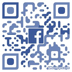QR code with logo 1J1X0