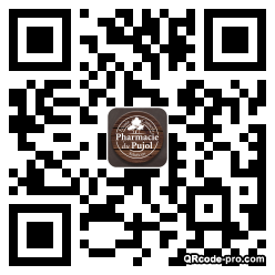 QR code with logo 1J2a0