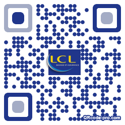 QR code with logo 1J8J0