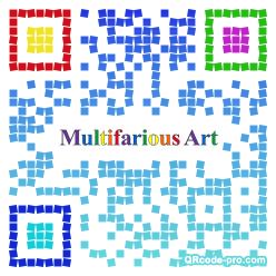 QR code with logo 1JJl0