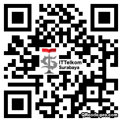 QR code with logo 1Je80