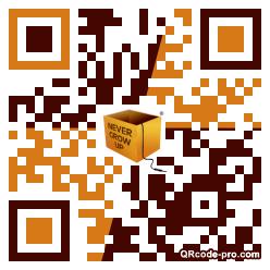 QR Code Design 1JfW0