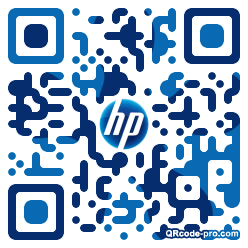 QR code with logo 1Jy40