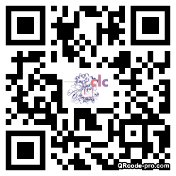 QR code with logo 1K100