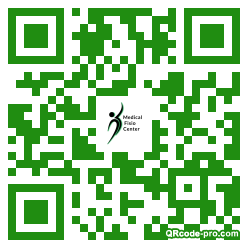QR code with logo 1K750