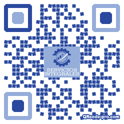 QR code with logo 1K810