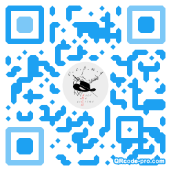 QR code with logo 1KEx0