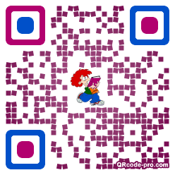 QR code with logo 1KFr0
