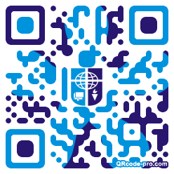 QR code with logo 1KLE0