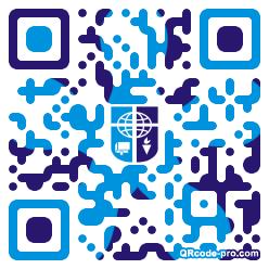 QR code with logo 1KLU0