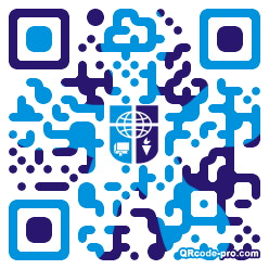 QR code with logo 1KLm0
