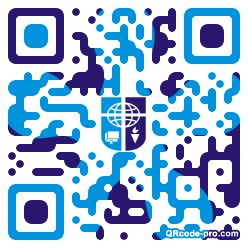 QR code with logo 1KLo0