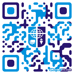 QR code with logo 1KLp0