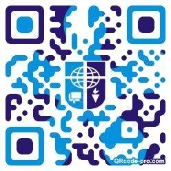 QR code with logo 1KLs0