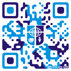QR code with logo 1KLv0