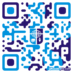 QR code with logo 1KLw0