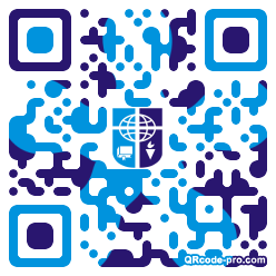 QR code with logo 1KM00