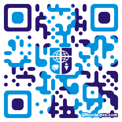 QR code with logo 1KMA0