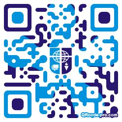 QR code with logo 1KMI0