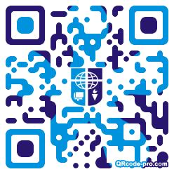 QR code with logo 1KMZ0