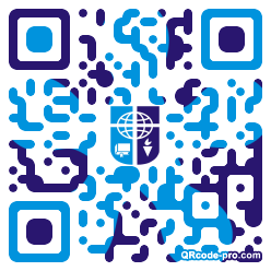 QR code with logo 1KMs0