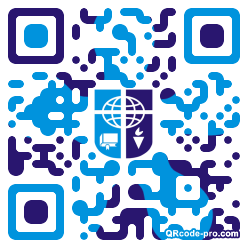 QR code with logo 1KN20