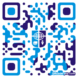 QR code with logo 1KNa0